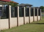 Horizontal Slat Fence Panels