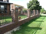 Decorative Fence Panels with Scrolls