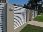 Horizontal Slat Infill Panels