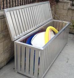 Aluminium Storage Box 3 Open