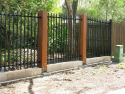 SQUARE TUBE FENCE PANEL